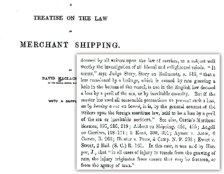 海洋保険会社ロイズの書類